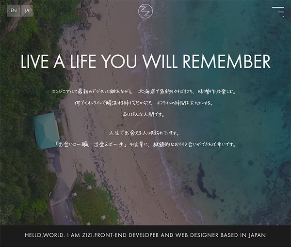 LIVE A LIFE YOU WILLREMEMBER