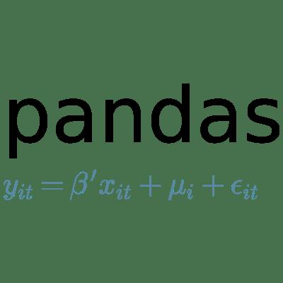 Curriculum pandas